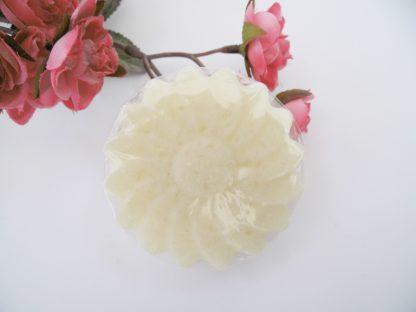 Salzseife Blume 100g
