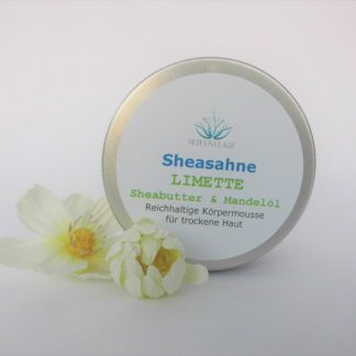 Sheasahne Limette 150ml