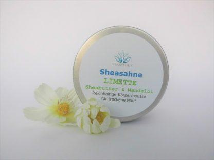 Sheasahne Limette 150ml