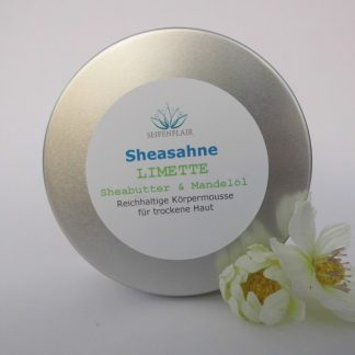 Sheasahne Limette 200ml